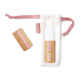 This image shows the ZAO Natural Organic Mineral Vegan Cruelty-Free (like Inika Bobbi Brown Nude for Nature) and Refillable Bamboo Makeup Australia Online Retail Store Lip Balm Stick