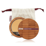 This image shows the ZAO Natural Organic Mineral Vegan Cruelty-Free (like Inika Bobbi Brown Nude for Nature) and Refillable Bamboo Makeup Australia Online Retail Store Cream Compact Foundation