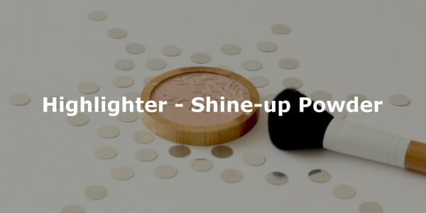 This image shows the ZAO Organic Vegan and Refillable Makeup Australia Online Retail StoreHighlighter - Shine-up Powder
