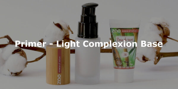 This image shows the ZAO Organic Vegan and Refillable Makeup Australia Online Retail StorePrimer - Light Complexion Base
