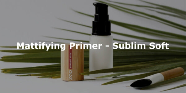 This image shows ZAO Makeup Mattifying Primer - Sublim Soft