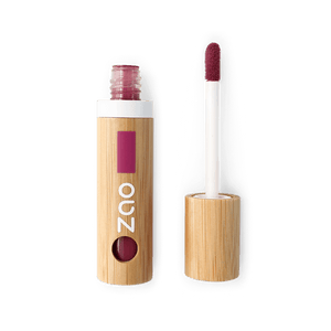 This image shows the ZAO Makeup  Lip Polish - Bamboo Case Product Burgundy 031