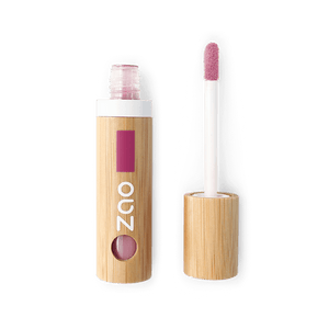 This image shows the ZAO Makeup  Lip Polish - Bamboo Case Product Rosewood 037