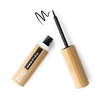 This image shows the ZAO Cosmetics and ZAO Natural Organic Mineral Vegan Cruelty-Free (like Inika, Bobbi Brown and Nude By Nature) and Refillable Bamboo Makeup Australia Online Retail Store Eyeliner - Bamboo Case Product Black Intense Felt Tip 066