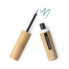 This image shows the ZAO Cosmetics and ZAO Natural Organic Mineral Vegan Cruelty-Free (like Inika, Bobbi Brown and Nude By Nature) and Refillable Bamboo Makeup Australia Online Retail Store Eyeliner - Bamboo Case Product Emerald Green Brush Tip 073