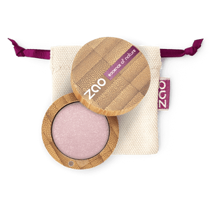 This image shows the ZAO Cosmetics and ZAO Natural Organic Mineral Vegan Cruelty-Free (like Inika, Bobbi Brown and Nude By Nature) and Refillable Bamboo Makeup Australia Online Retail Store Pearly Eyeshadow - Bamboo Case Product Old Pink 103