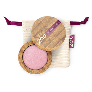 This image shows the ZAO Cosmetics and ZAO Natural Organic Mineral Vegan Cruelty-Free (like Inika, Bobbi Brown and Nude By Nature) and Refillable Bamboo Makeup Australia Online Retail Store Pearly Eyeshadow - Bamboo Case Product Garnet 104