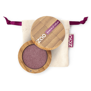 This image shows the ZAO Makeup  Pearly Eyeshadow - Bamboo Case Product Garnet 104