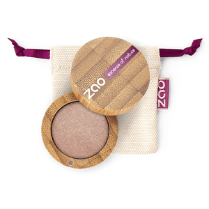 This image shows the ZAO Makeup  Pearly Eyeshadow - Bamboo Case Product Golden Sand 105