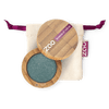This image shows the ZAO Cosmetics and ZAO Natural Organic Mineral Vegan Cruelty-Free (like Inika, Bobbi Brown and Nude By Nature) and Refillable Bamboo Makeup Australia Online Retail Store Pearly Eyeshadow - Bamboo Case Product Metal Grey 110