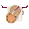 This image shows the ZAO Makeup  Pearly Eyeshadow - Bamboo Case Product Coppered Gold 113