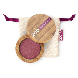 This image shows the ZAO Cosmetics and ZAO Natural Organic Mineral Vegan Cruelty-Free (like Inika, Bobbi Brown and Nude By Nature) and Refillable Bamboo Makeup Australia Online Retail Store Pearly Eyeshadow - Bamboo Case Product Denim Blue 116
