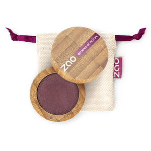 This image shows the ZAO Makeup  Pearly Eyeshadow - Bamboo Case Product Plum 118