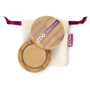 This image shows the ZAO Cosmetics and ZAO Natural Organic Mineral Vegan Cruelty-Free (like Inika, Bobbi Brown and Nude By Nature) and Refillable Bamboo Makeup Australia Online Retail Store Pearly Eyeshadow - Bamboo Case Product Pinky Beige 102