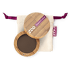 This image shows the ZAO Cosmetics and ZAO Natural Organic Mineral Vegan Cruelty-Free (like Inika, Bobbi Brown and Nude By Nature) and Refillable Bamboo Makeup Australia Online Retail Store Matt Eyeshadow - Bamboo Case Product Dark Brown 203