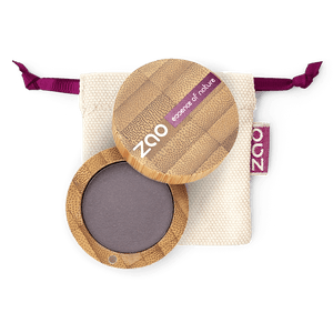 This image shows the ZAO Cosmetics and ZAO Natural Organic Mineral Vegan Cruelty-Free (like Inika, Bobbi Brown and Nude By Nature) and Refillable Bamboo Makeup Australia Online Retail Store Matt Eyeshadow - Bamboo Case Product Dark Purple 205