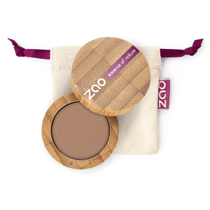 This image shows the ZAO Cosmetics and ZAO Natural Organic Mineral Vegan Cruelty-Free (like Inika, Bobbi Brown and Nude By Nature) and Refillable Bamboo Makeup Australia Online Retail Store Matt Eyeshadow - Bamboo Case Product Nude 208