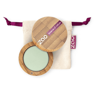 This image shows the ZAO Cosmetics and ZAO Natural Organic Mineral Vegan Cruelty-Free (like Inika, Bobbi Brown and Nude By Nature) and Refillable Bamboo Makeup Australia Online Retail Store Matt Eyeshadow - Bamboo Case Product Aquamarine 214