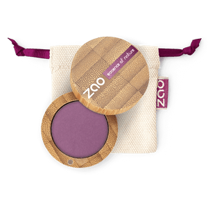 This image shows the ZAO Cosmetics and ZAO Natural Organic Mineral Vegan Cruelty-Free (like Inika, Bobbi Brown and Nude By Nature) and Refillable Bamboo Makeup Australia Online Retail Store Matt Eyeshadow - Bamboo Case Product Purplish Grape 215