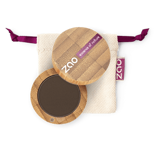 This image shows the ZAO Makeup  Eyebrow Powder - Bamboo Case Product Brown 262