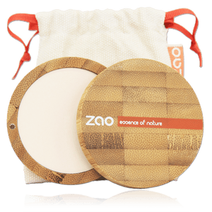 This image shows the ZAO Cosmetics and ZAO Natural Organic Mineral Vegan Cruelty-Free (like Inika, Bobbi Brown and Nude By Nature) and Refillable Bamboo Makeup Australia Online Retail Store Compact Powder - Bamboo Case Product Ivory 301
