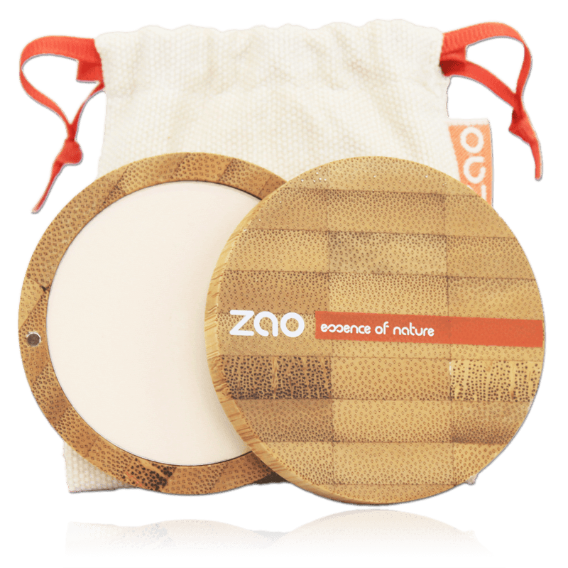 This image shows the ZAO Natural Organic Mineral Vegan Cruelty-Free (like Inika, Bobbi Brown and Nude By Nature) and Refillable Bamboo Makeup Australia Online Retail Store Compact Powder - Bamboo Case Product Ivory 301
