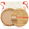 This image shows the ZAO Cosmetics and ZAO Natural Organic Mineral Vegan Cruelty-Free (like Inika, Bobbi Brown and Nude By Nature) and Refillable Bamboo Makeup Australia Online Retail Store Compact Powder - Bamboo Case Product Brown Beige 303
