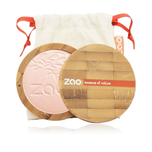 This image shows the ZAO Cosmetics and ZAO Natural Organic Mineral Vegan Cruelty-Free (like Inika, Bobbi Brown and Nude By Nature) and Refillable Bamboo Makeup Australia Online Retail Store Highlighter - Shine up Powder - Bamboo Case Product