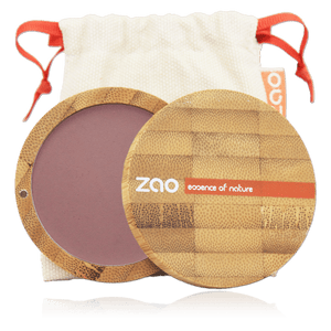This image shows the ZAO Natural Organic Mineral Vegan Cruelty-Free (like Inika, Bobbi Brown and Nude By Nature) and Refillable Bamboo Makeup Australia Online Retail Store Blush - Bamboo Case Product Dark Purple 323
