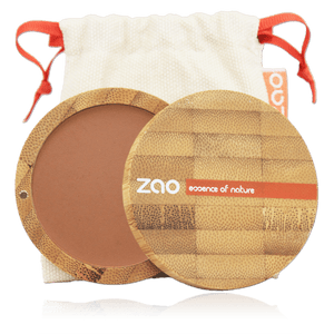 This image shows the ZAO Makeup  Blush - Bamboo Case Product Brick Red 324