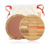 This image shows the ZAO Makeup  Blush - Bamboo Case Product Golden Coral 325