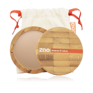 This image shows the ZAO Natural Organic Mineral Vegan Cruelty-Free (like Inika, Bobbi Brown and Nude By Nature) and Refillable Bamboo Makeup Australia Online Retail Store Bronzer - Mineral Cooked Powder - Bamboo Case Product Mattifying 346