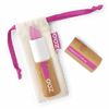 This image shows the ZAO Cosmetics and ZAO Natural Organic Mineral Vegan Cruelty-Free (like Inika, Bobbi Brown and Nude By Nature) and Refillable Bamboo Makeup Australia Online Retail Store Pearly Lipstick - Bamboo Case Product Fushia 403