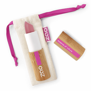 This image shows the ZAO Makeup  Matt Lipstick - Bamboo Case Product Old Pink 462
