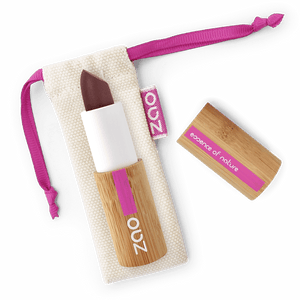 This image shows the ZAO Cosmetics and ZAO Natural Organic Mineral Vegan Cruelty-Free (like Inika, Bobbi Brown and Nude By Nature) and Refillable Bamboo Makeup Australia Online Retail Store Matt Lipstick - Bamboo Case Product Nude 467