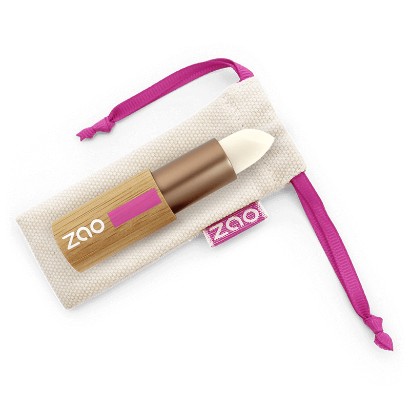 This image shows the ZAO Organic Vegan and Refillable Makeup Australia Online Retail Store Lip Balm Stick - Bamboo Case Product