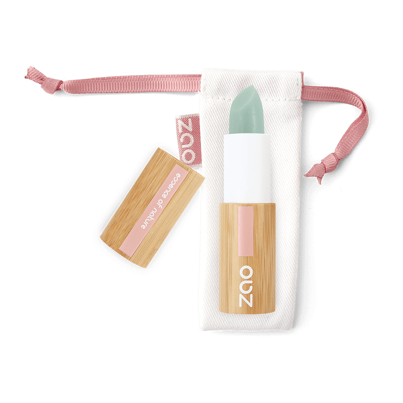 This image shows the ZAO Cosmetics and ZAO Natural Organic Mineral Vegan Cruelty-Free (like Inika, Bobbi Brown and Nude By Nature) and Refillable Bamboo Makeup Australia Online Retail Store Lip Scrub - Bamboo Case Product