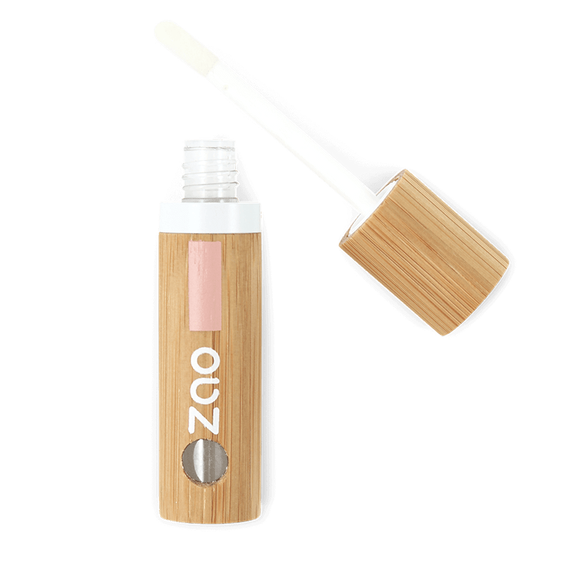 This image shows the ZAO Makeup  Liquid Lip Balm - Bamboo Case Product