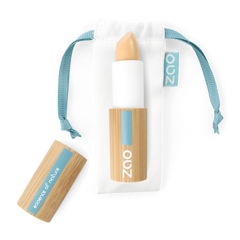 This image shows the ZAO Natural Organic Mineral Vegan Cruelty-Free (like Inika, Bobbi Brown and Nude By Nature) and Refillable Bamboo Makeup Australia Online Retail Store Concealer - Corrector - Bamboo Case Product Ivory 491