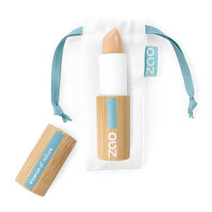 This image shows the ZAO Cosmetics and ZAO Natural Organic Mineral Vegan Cruelty-Free (like Inika, Bobbi Brown and Nude By Nature) and Refillable Bamboo Makeup Australia Online Retail Store Concealer - Corrector - Bamboo Case Product Dark Brown 494