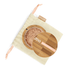 This image shows the ZAO Cosmetics and ZAO Natural Organic Mineral Vegan Cruelty-Free (like Inika, Bobbi Brown and Nude By Nature) and Refillable Bamboo Makeup Australia Online Retail Store Loose Powder - Mineral Silk Foundation - Bamboo Case Product Beige Orange 503