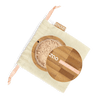 This image shows the ZAO Cosmetics and ZAO Natural Organic Mineral Vegan Cruelty-Free (like Inika, Bobbi Brown and Nude By Nature) and Refillable Bamboo Makeup Australia Online Retail Store Loose Powder - Mineral Silk Foundation Pinkish Beige 502