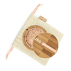 This image shows the ZAO Cosmetics and ZAO Natural Organic Mineral Vegan Cruelty-Free (like Inika, Bobbi Brown and Nude By Nature) and Refillable Bamboo Makeup Australia Online Retail Store Loose Powder - Mineral Silk Foundation - Bamboo Case Product Very Light Pink Ivory 508