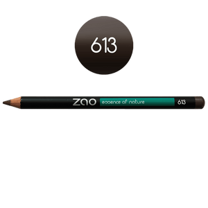 This image shows the ZAO Cosmetics and ZAO Natural Organic Mineral Vegan Cruelty-Free (like Inika, Bobbi Brown and Nude By Nature) and Refillable Bamboo Makeup Australia Online Retail Store Pencil Blond Eyebrow 613