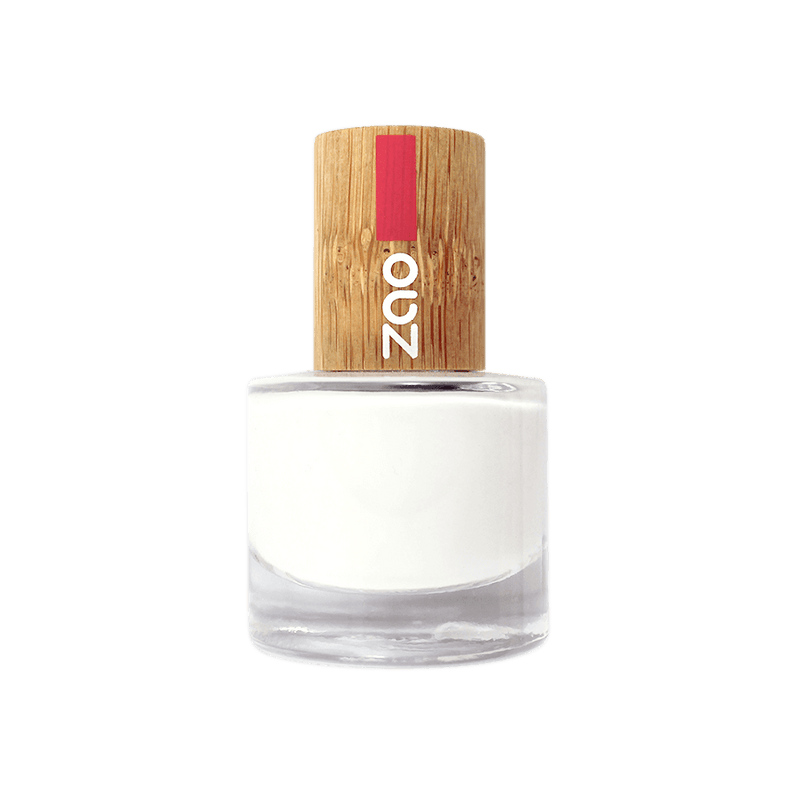 This image shows the ZAO Cosmetics and ZAO Natural Organic Mineral Vegan Cruelty-Free (like Inika, Bobbi Brown and Nude By Nature) and Refillable Bamboo Makeup Australia Online Retail Store French Manicure White 641