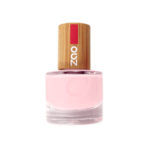 This image shows the ZAO Cosmetics and ZAO Natural Organic Mineral Vegan Cruelty-Free (like Inika, Bobbi Brown and Nude By Nature) and Refillable Bamboo Makeup Australia Online Retail Store French Manicure Rose 643