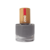 This image shows the ZAO Cosmetics and ZAO Natural Organic Mineral Vegan Cruelty-Free (like Inika, Bobbi Brown and Nude By Nature) and Refillable Bamboo Makeup Australia Online Retail Store Nail Polish Grey 649