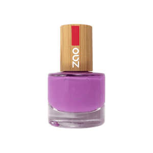 This image shows the ZAO Cosmetics and ZAO Natural Organic Mineral Vegan Cruelty-Free (like Inika, Bobbi Brown and Nude By Nature) and Refillable Bamboo Makeup Australia Online Retail Store Nail Polish Plum 651