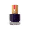 This image shows the ZAO Cosmetics and ZAO Natural Organic Mineral Vegan Cruelty-Free (like Inika, Bobbi Brown and Nude By Nature) and Refillable Bamboo Makeup Australia Online Retail Store Nail Polish Night Blue 653