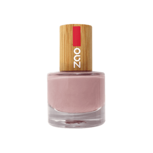 This image shows the ZAO Cosmetics and ZAO Natural Organic Mineral Vegan Cruelty-Free (like Inika, Bobbi Brown and Nude By Nature) and Refillable Bamboo Makeup Australia Online Retail Store Nail Polish Nude 655